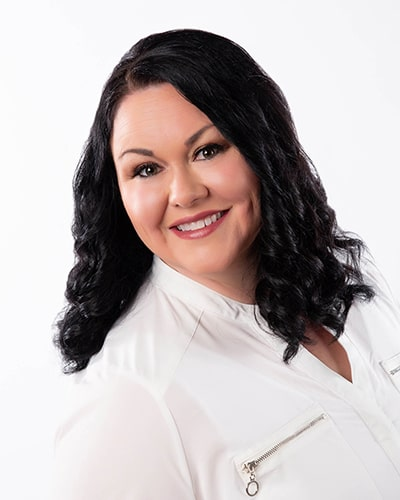 Jennifer, dental assistant for our dentist in Mitchell