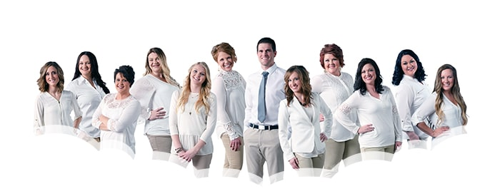 Group photo of Mitchell Dental Care Center Team